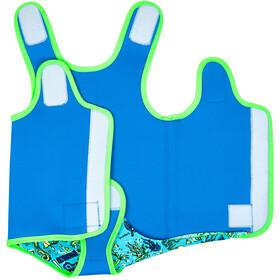 Zoggs Deep Sea - Niños - verde/azul